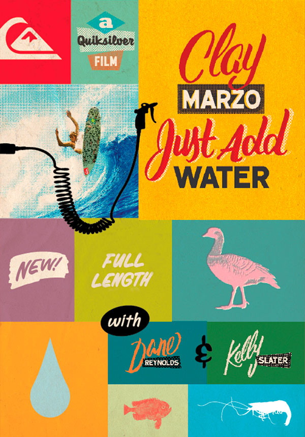 Clay Marzo Just Add Water Surf Movies On Thesurfnetwork Com